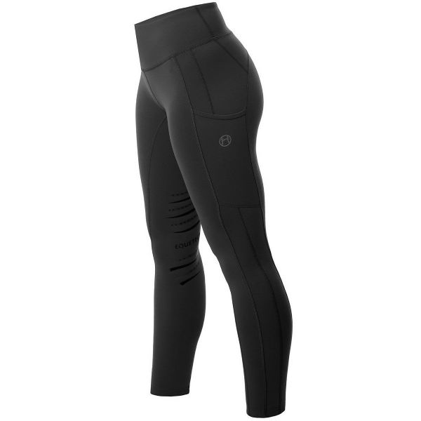 Equetech Winter Riding Tights - Black